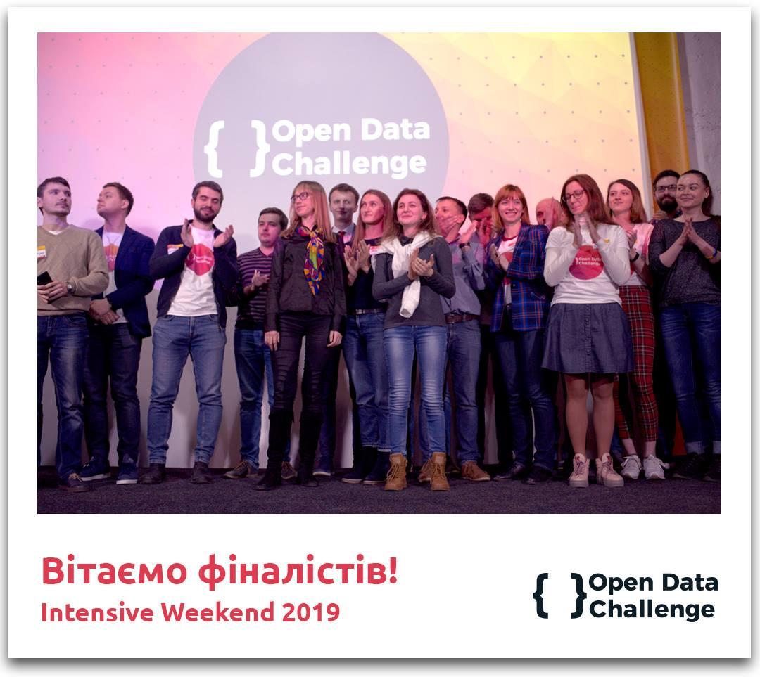 Вітаємо фіналістів Open Data Challenge 2019!