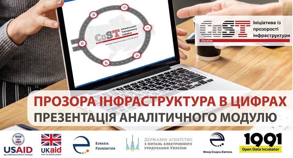 Презентація аналітичного модулю порталу «Прозора інфраструктура»