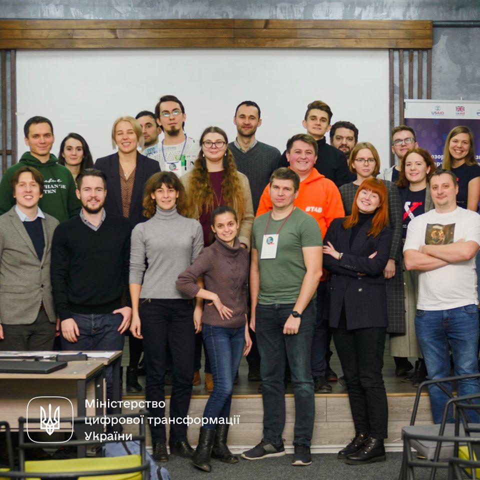 Відгримів перший в 2020 OpenData Campus